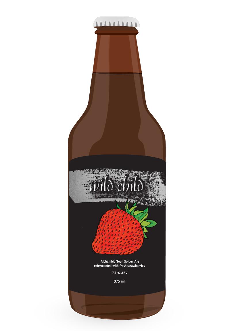 Wild Child Strawberry 375 ml